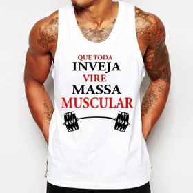 Camiseta Regata Criativa Urbana Frases No Pain No Gain Academia ... 6f9bf8ea592