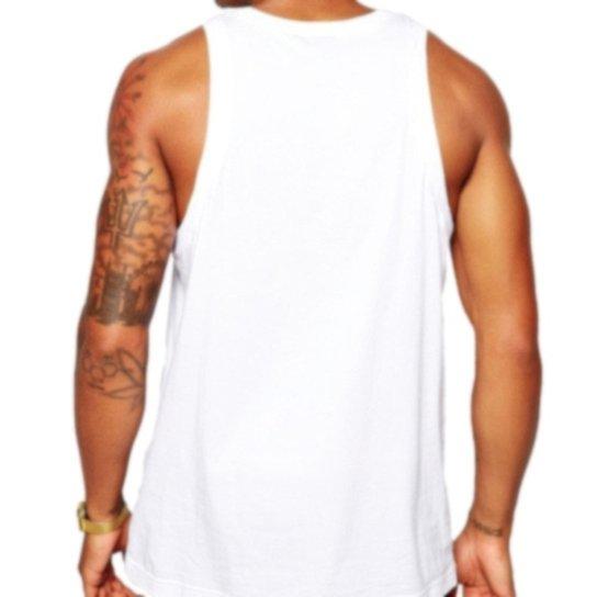 11098d413 Camiseta Regata Criativa Urbana Frases Engraçadas Não Leia - Branco ...