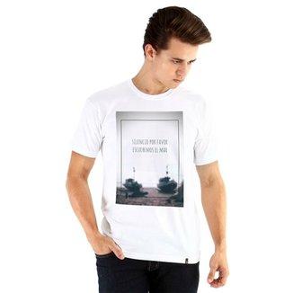 Camiseta Ouroboros manga curta Escuchemos 88b3a2f3371fe