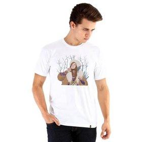 397311d40a Camiseta Ouroboros Janis Joplin Masculina