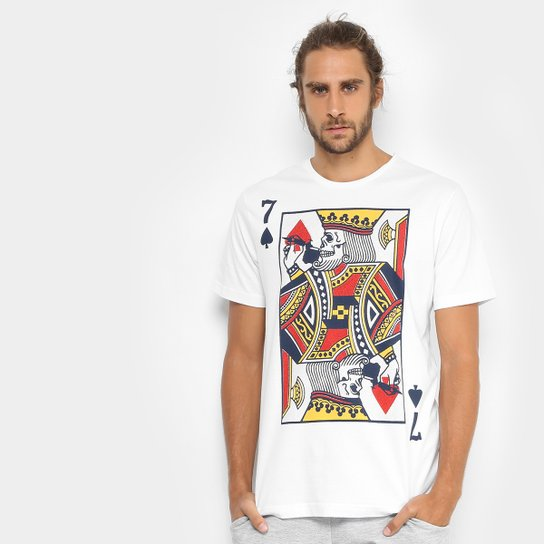 2aeddb46701ca Camiseta MCD Regular King Masculina - Compre Agora