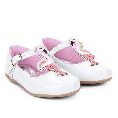 Sapatilha Infantil Bella Ninna Flamingo Feminina