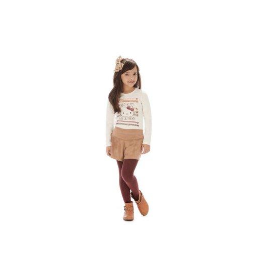 9d433c192 Conjunto Infantil Hello Kitty Feminina - Compre Agora