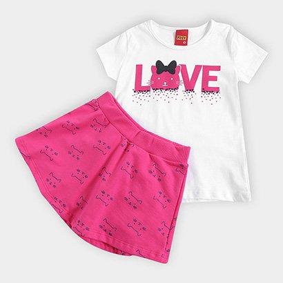 Conjunto Infantil Kyly Love Feminino