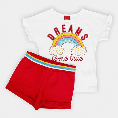 Conjunto Infantil Kyly Dreams Feminino