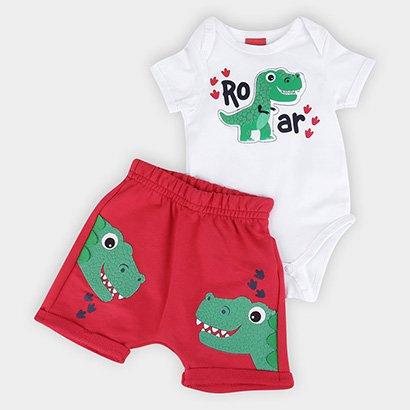 Conjunto Infantil Kyly Dino Masculino