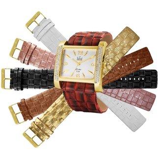 df2a5215d46 Relógio Dumont Feminino Troca Pulseira - SK85537 B SK85537 B