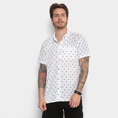 Camisa Redley Mc Mini Icons Pattern Masculina