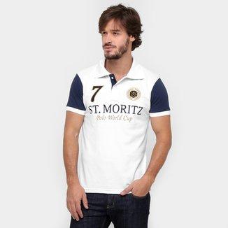 Camisa Polo Local Piquet Bicolor 5d731b9859e44