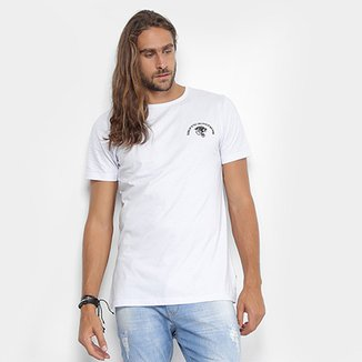 Camiseta Local Gola Careca Estampa Tigre Masculina 38e4d15ecef