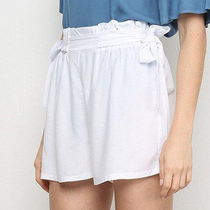 Shorts Mercatto Amarração Feminino