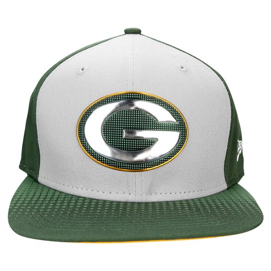 Boné New Era NFL 950 Draft Colletion Green Bay Packers - Cinza+Verde 7a5c83e035c