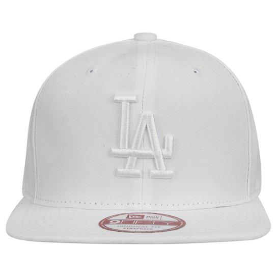 Boné New Era 950 MLB Original Fit Los Angeles Dodgers - Branco ... 2f02da7a87b