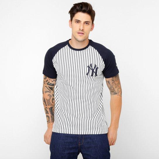Camiseta New Era MLB New York Yankees Listrada Especial - Compre ... e7ec7a6f181