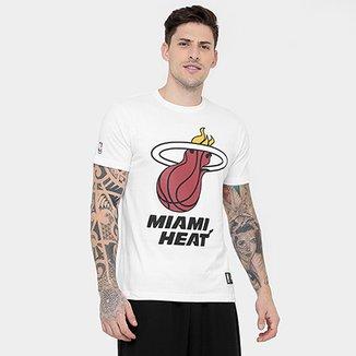 Camiseta New Era NBA Basic Logo Miami Heat a4686d76bef