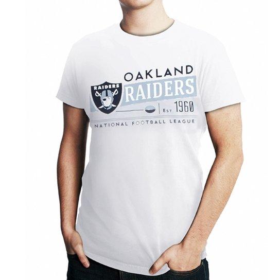 506639413f6c2 Camiseta New Era NFL Oakland Raiders Lettering - Compre Agora