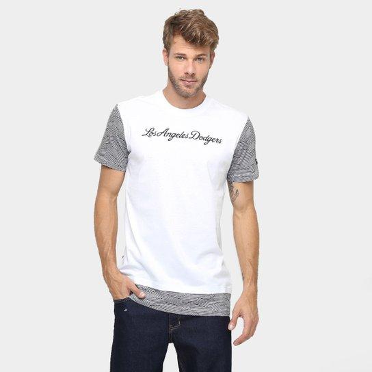 2663f27cc Camiseta New Era MLB Long Los Angeles Dodgers - Compre Agora