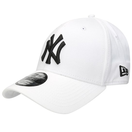 0b603c62a7837 Boné New Era MLB 3930 Hc Black On White New York Yankees - Compre ...