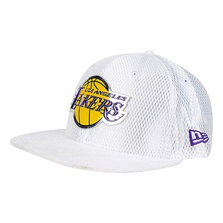 6257ef31c4956 Boné New Era NBA Los Angeles Lakers Aba Reta 950 Sn NBA 17 Onc Masculino