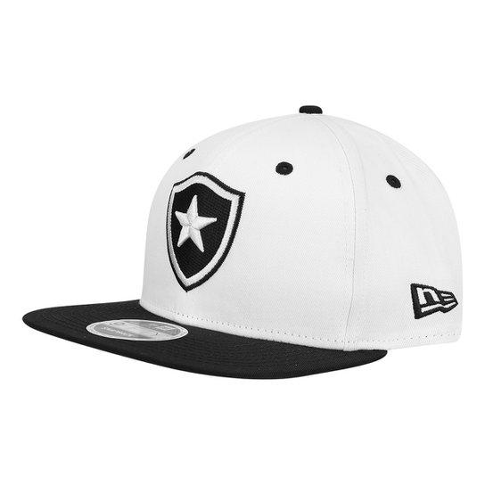 Boné Botafogo 950 New Era Aba Reta SN Masculino - Branco - Compre ... 921c867a346