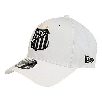 Boné New Era Aba Curva Santos Símbolo Masculino 63e39014650