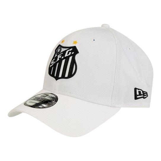 Boné New Era Aba Curva Santos Símbolo Masculino - Compre Agora ... 49379f13e92