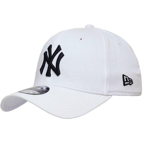 307bff62f Boné New Era Aba Curva Fechado Mlb Ny Yankees Colo - Branco - Compre ...
