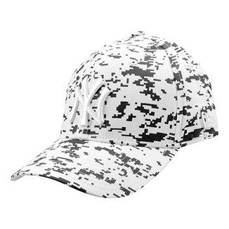 Boné New Era MLB New York Yankees Aba Curva Lic1001 5309624ea85