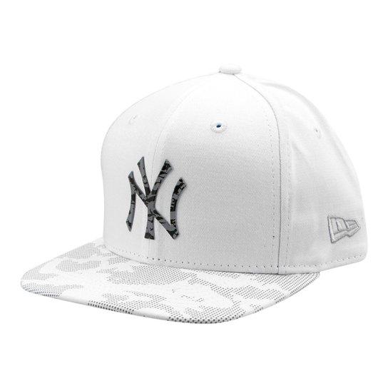 cbceaf060b29f Boné New Era MLB New York Yankees Aba Reta Lic980 - Compre Agora ...