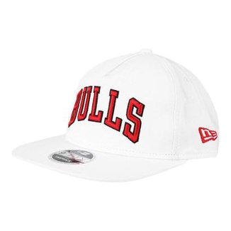 Boné New Era NBA Chicago Bulls Aba Reta 950 OF Af SN Retrô 552540c412d