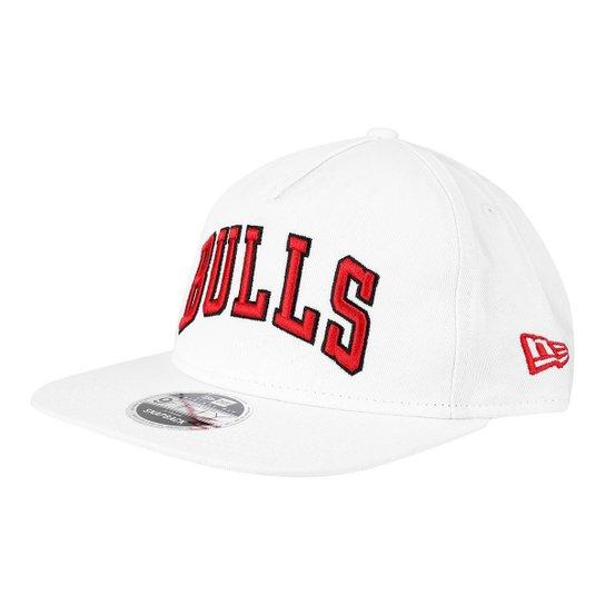 Boné New Era NBA Chicago Bulls Aba Reta 950 OF Af SN Retrô - Compre ... 986223f5ba6
