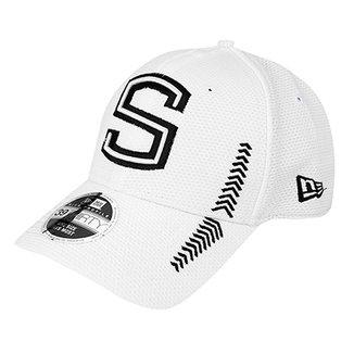 Boné New Era Santos Aba Curva Logo 3930 HP 70fda578a28