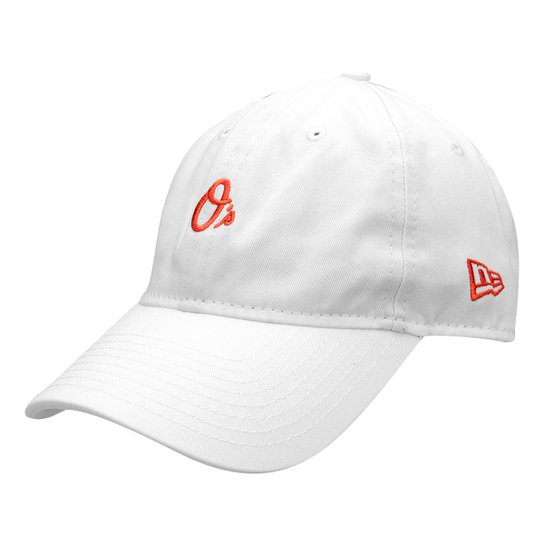 Boné New Era MLB Baltimore Orioles Aba Curva 940 St 2041 Balori - Branco f5f25bf3aad