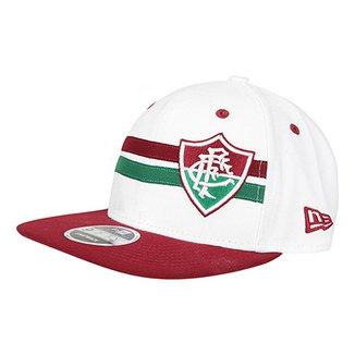 8e27316ad0 Boné New Era Fluminense Stripe Aba Reta