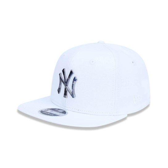 201c96f8f1 Boné New Era 950 Yankees Metal Branco - Snapback - Compre Agora ...