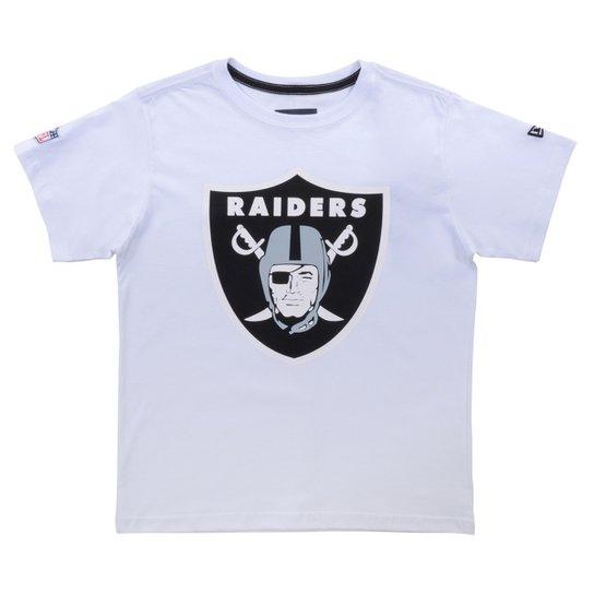 Camiseta New Era Infantil Raiders - Compre Agora  638e311f75e