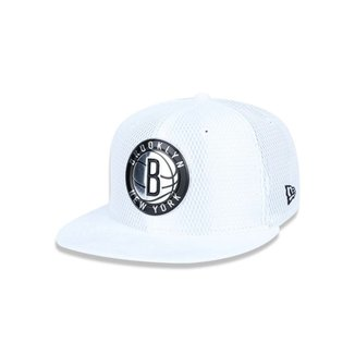95fbd6d027b52 Bone 950 New Era Brooklyn Nets NBA Aba Reta Snapback