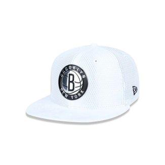 Bone 950 New Era Brooklyn Nets NBA Aba Reta Snapback 8a25fb5f148