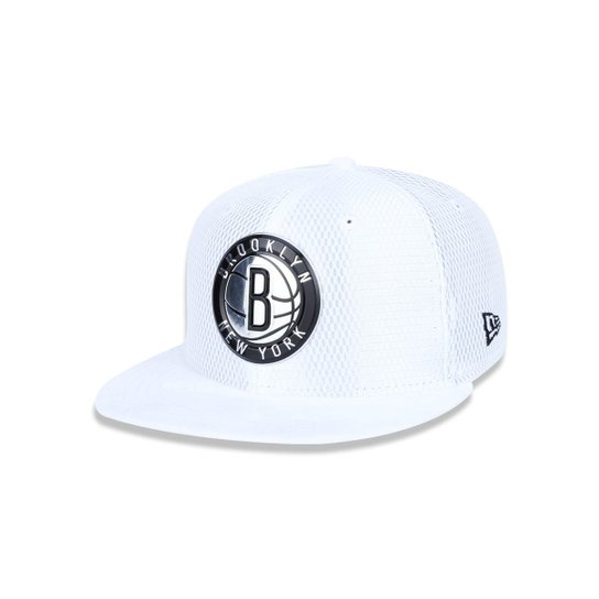 a79cde3e8 Bone 950 New Era Brooklyn Nets NBA Aba Reta Snapback - Compre Agora ...