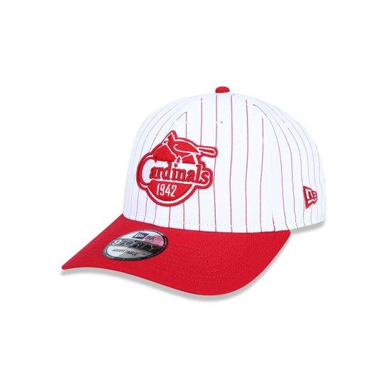 0f69e7f2848 Boné 940 Saint Louis Cardinals MLB Aba Curva Snapback New Era - Branco