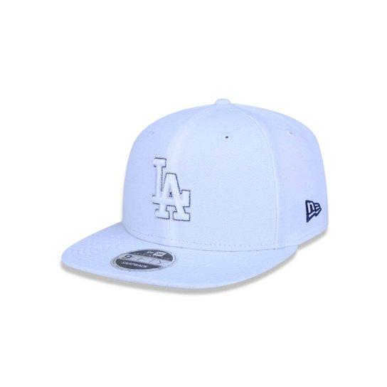 Boné 950 Original Fit Los Angeles Dodgers MLB Aba Reta Snapback New Era -  Branco beab01009c6