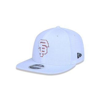 5a2b6ad7d58bb Boné 950 Original Fit San Francisco Giants MLB Aba Reta Snapback New Era