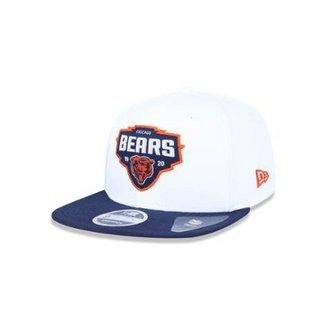 Boné 950 Original Fit Chicago Bears NFL Aba Reta Snapback New Era 0779f462a02
