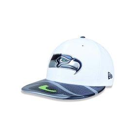 Boné New Era 950 NFL Of Sn Retro Tone Seattle Seahawks Otc - Azul ... 395df7bd7ad