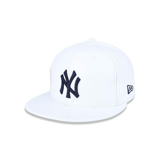 dc8029b669 Boné 5950 Spike Lee MLB Aba Reta New Era - Branco - Compre Agora ...
