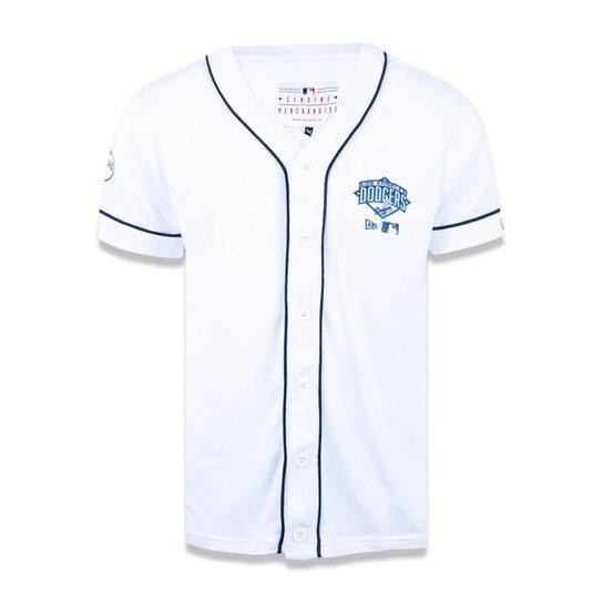 aa15a6ece9a9f Camisa Los Angeles Dodgers MLB New Era Masculina - Branco - Compre ...