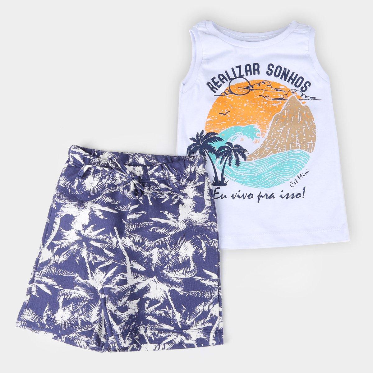 Conjunto Bebê Costão Surf Masculino