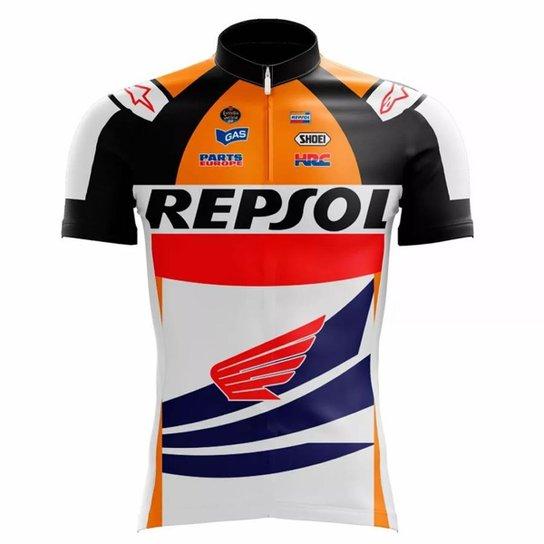 Camisa Scape Repsol Ciclismo - Compre Agora  4b443ce21