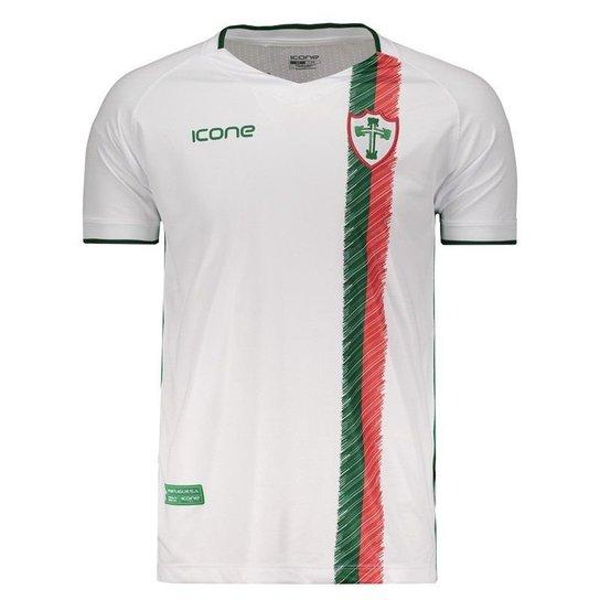 b85d5fd0b3 Camisa Ícone Sports Portuguesa II 2018 Masculina - Branco - Compre ...