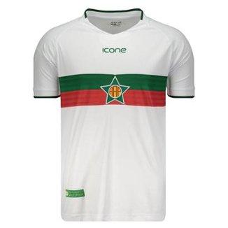 Camisa Ícone Sports Portuguesa RJ I 2018 Masculina 93808546b6ef9